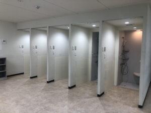 多摩ドローンコートシャワー