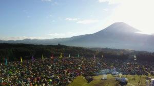 富士山朝霧高原フェスドローン