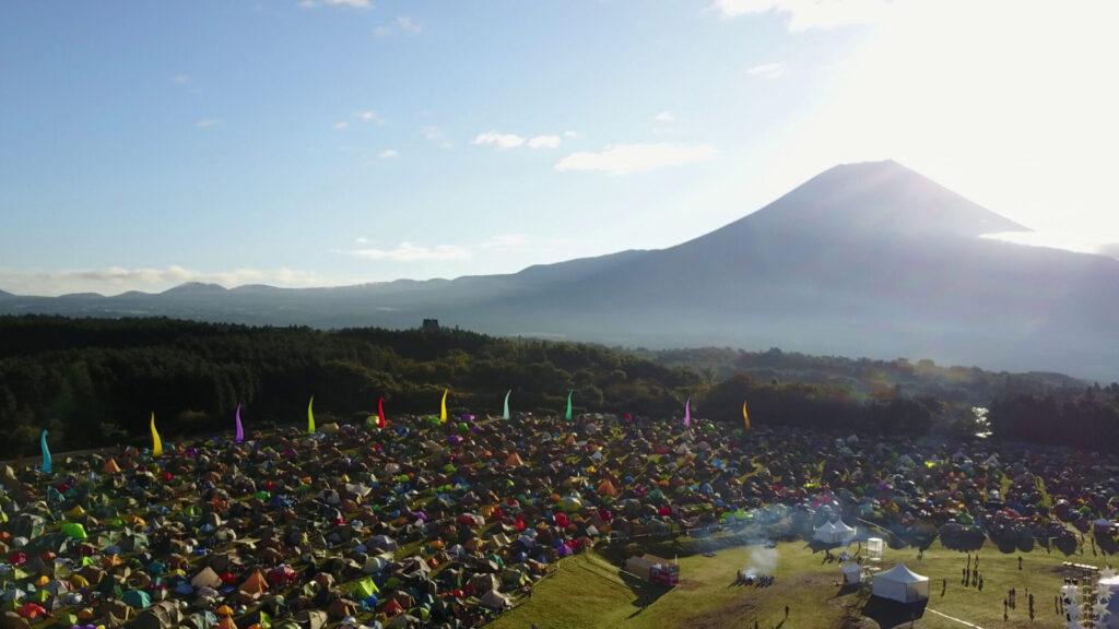 富士山ドローン空撮